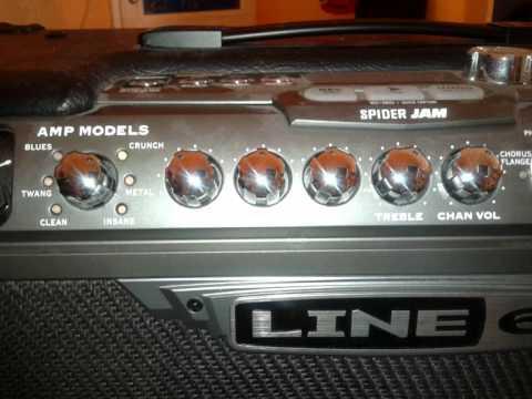 Line 6 Spider Jam (Spider IV) Soundtest
