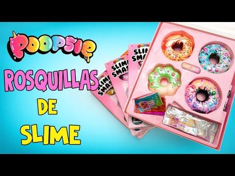 Un enorme set de Rosquillas Poopsie Slime