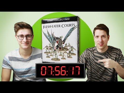 Painting A Warhammer Start Collecting Box In 8 Hours Challenge - Is It Possible?