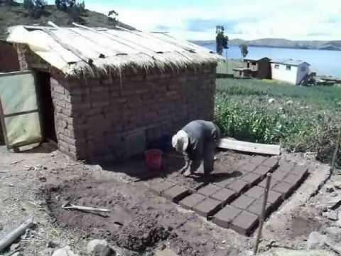 bolivien haus selber bauen aus lehmziegeln kohaus von tobias dreissig youtube. Black Bedroom Furniture Sets. Home Design Ideas