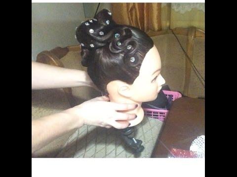 Причёски для турниров по бальным танцам