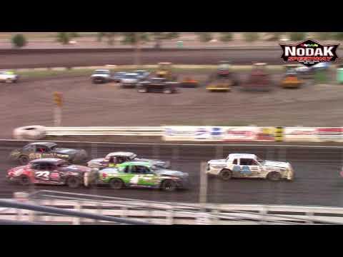 Nodak Speedway IMCA Hobby Stock A-Main (8/19/18)