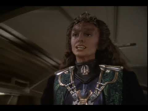 General Martok Wife Sirella Arrives on DS9