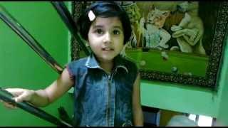 Guru Bramha, Asatoma Sadgamaya, karagre vasate lakshmi, Sanskrit song by Kid