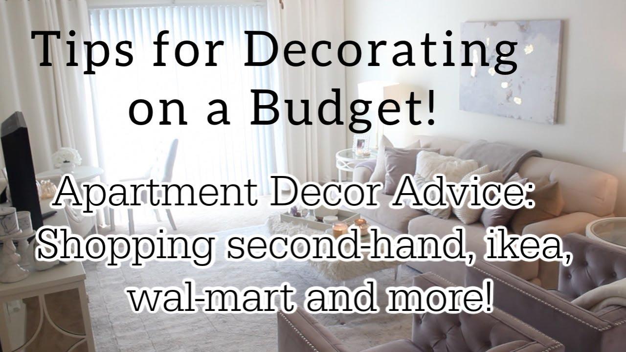 apartment decor shopping