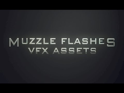 Muzzle Flashes Royalty Free VFX Assets