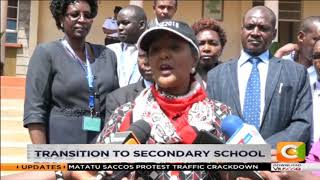 Education CS Amina assures 100% transition to secondary schools