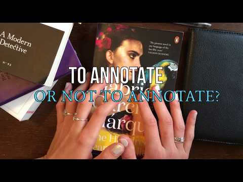 HOW I READ: How I Annotate Books And EBooks, School, & Keeping A Literature Journal