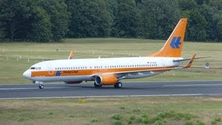 """TUIfly"" (Hapag-Lloyd Retro Livery) Boeing 737-800 [D-ATUF] Takeoff at Cologne-Bonn"