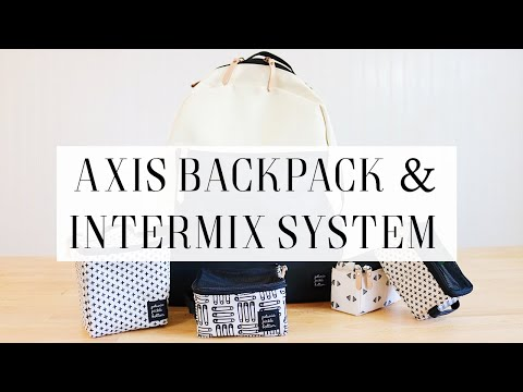 Axis Backpack + Intermix System By Petunia Pickle Bottom