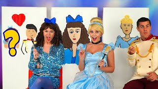 Baixar CINDERELLA VS STEPSISTERS PAINT EACH OTHER CHALLENGE. With Drizella, Anastasia and Prince Charming.