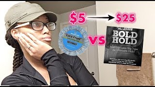 Baixar Testing the Infamous $25 Bold Hold Lace Tape Up Against Walkers $5 Version! DID IT WOW ME??