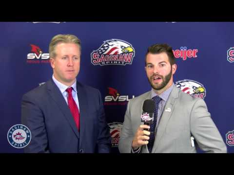 Interview With New Spirit Head Coach Troy Smith