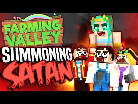 Minecraft Farming Valley with Lewis and Duncan #1 - Summoning Satan