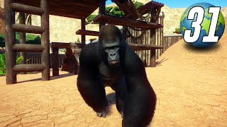 Planet Zoo Franchise - Part 31 - CRITICALLY ENDANGERED GORILLAS