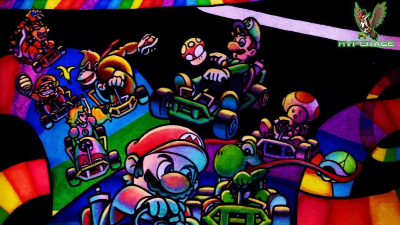Mario Kart Wii Rainbow Road Remix Youtube