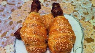 Куриные Ножки в Слоеном Тесте / Chicken Legs in Puff Pastry / Простой Рецепт (Очень Вкусно)