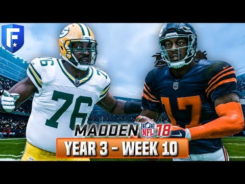 Madden 18 Bears Franchise Year 3 - Week 10 vs Packers | Ep.49