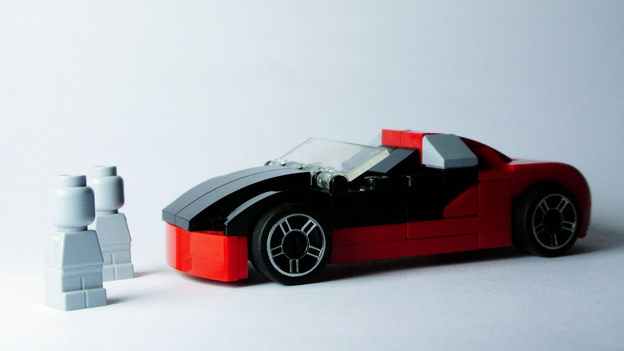 bugatti veyron cabrio microscale lego toy youtube. Black Bedroom Furniture Sets. Home Design Ideas
