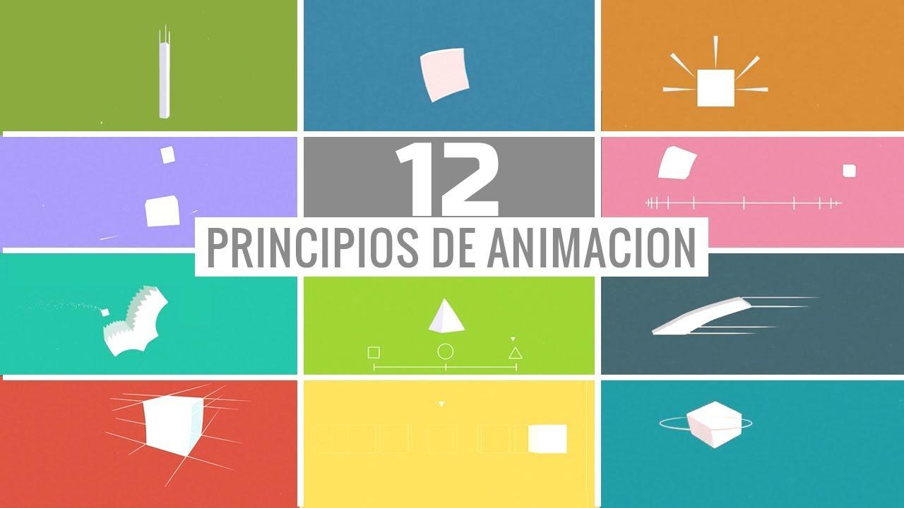 12 PRINCIPIOS DE ANIMACION EN DISNEY | En Español - YouTube