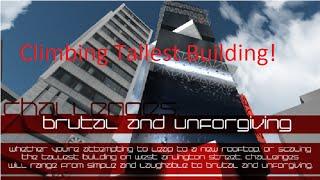 ROBLOX Mirror's Edge Climbing Tallest Building