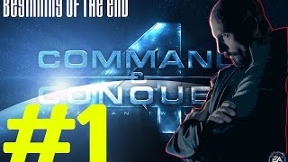 Beginning of the End - Intro - Command and Conquer 4 Tiberian Twilight Hard Walkthrough #1