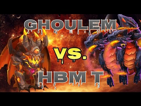 Castle Clash Ghoulem VS. HBM T!