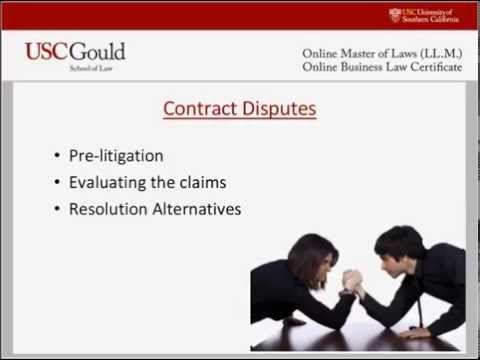 USC LLM Confessions of Transactional Attorney: What Law School Didn't Teach Me About Contracts