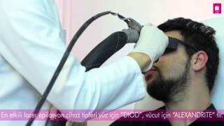 Sakal Bölgesi Lazer Epilasyon Antalya - DK Klinik