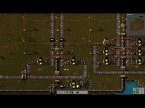 "Factorio Alpha 0.10 Gameplay | Rocket defense ""rush"" #3"