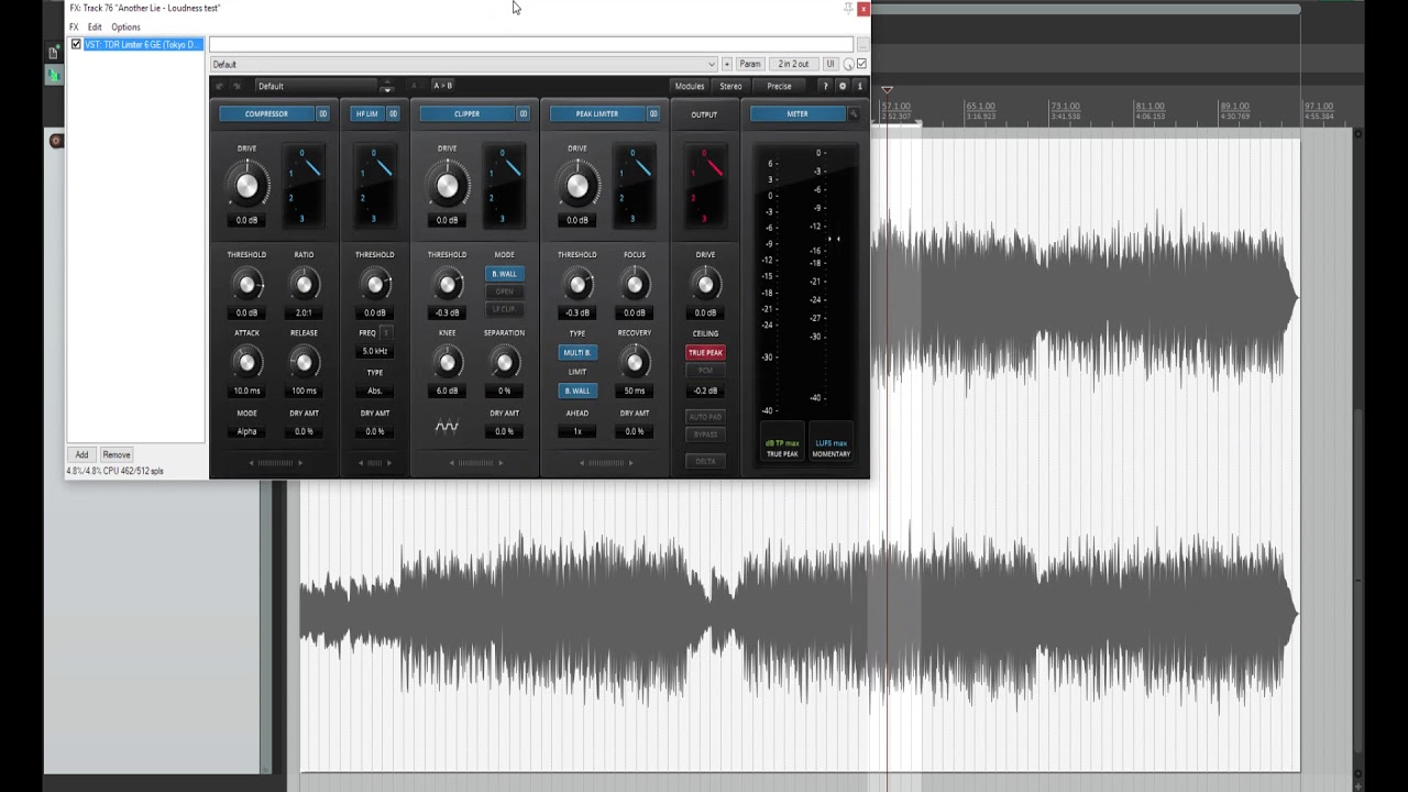 The loudness war - how to get it right for YouTube, Spotify, etc