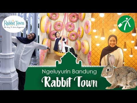 Serunya Main ke Tempat Wisata Selfie Rabbit Town Bandung