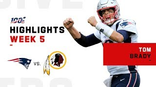 Tom Brady Moves to 3rd All-Time in Career Passing Yds | NFL 2019 Highlights