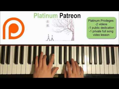 Orange ED - 未来 Mirai - Kobukuro | Patreon Dedication #43 (Piano Cover)