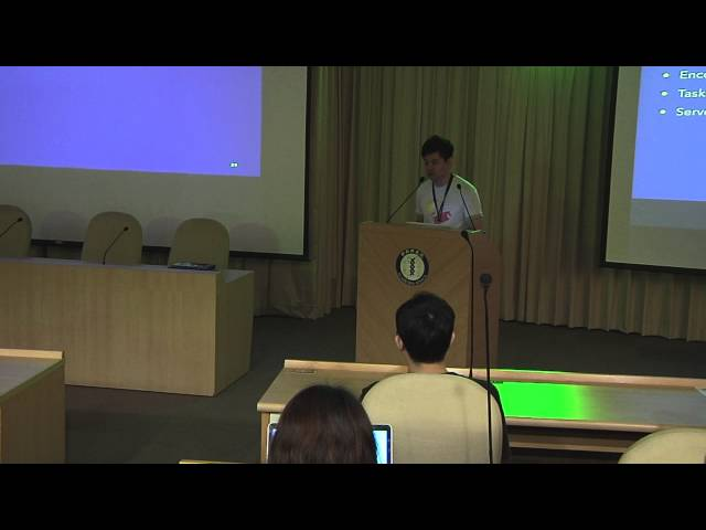 Image from Orchestrating the execution of workflows for media streaming ... - Shuen-Huei Guan (PyCon APAC 2015)