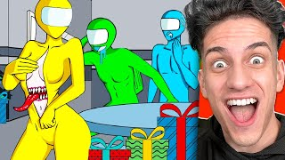 Among Us VIRAL TikToks Bad Timing Animations! (You Laugh = You Lose Challenge)