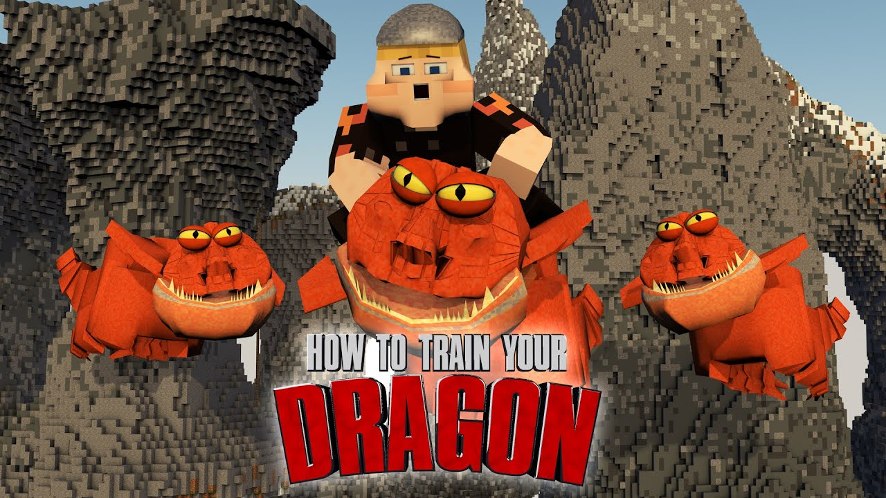 minecraft how to train your dragon texture pack