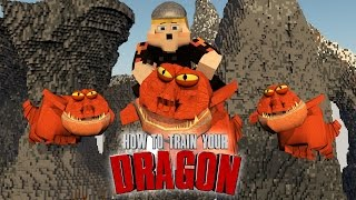 "Minecraft | How To Train Your Dragon Ep 6! ""BABY GRONCKLE"""