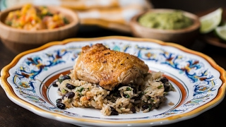 Zesty Lime Chicken And Black Bean Rice