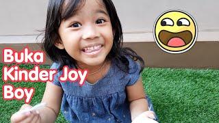 Kak Aruna Buka Kinder Joy Boy Isinya Truk - kinder joy surpr...
