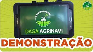 Como usar o GPS Agrícola Daga Agrinavi AGP? | Demonstração COMPLETA