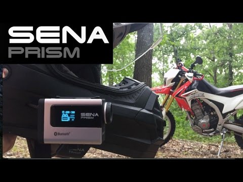 SENA PRISM Awesome Features ! Motovlog Action Camera Review