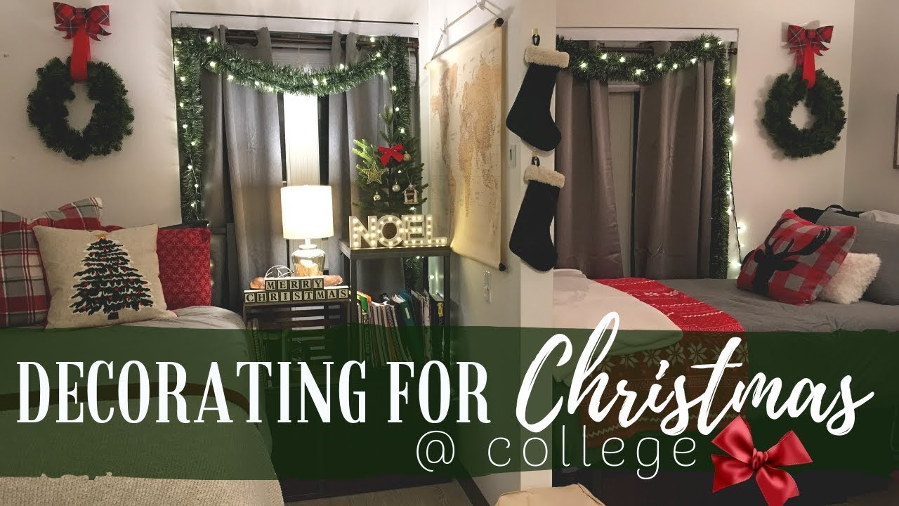 #19: Decorating our Dorm Room for Christmas + other vlogworthy events