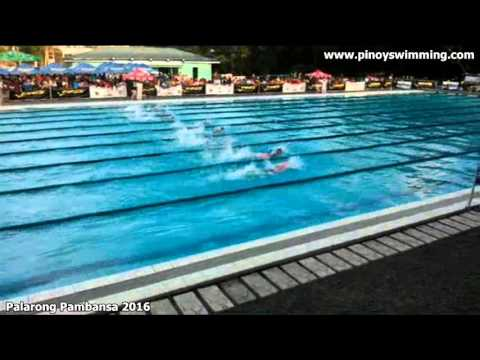 Palarong Pambansa 2016 : Boys 4x50m Freestyle Relay Finals Elementary