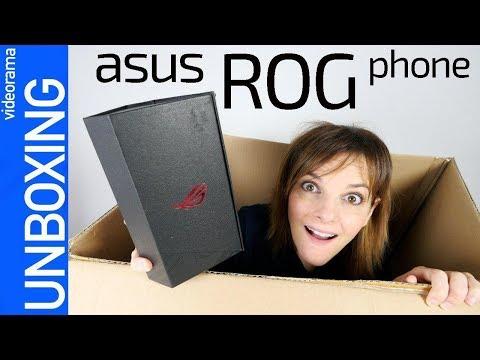 Asus ROG phone unboxing y primeras impresiones -OVERCLOCKING añadido-