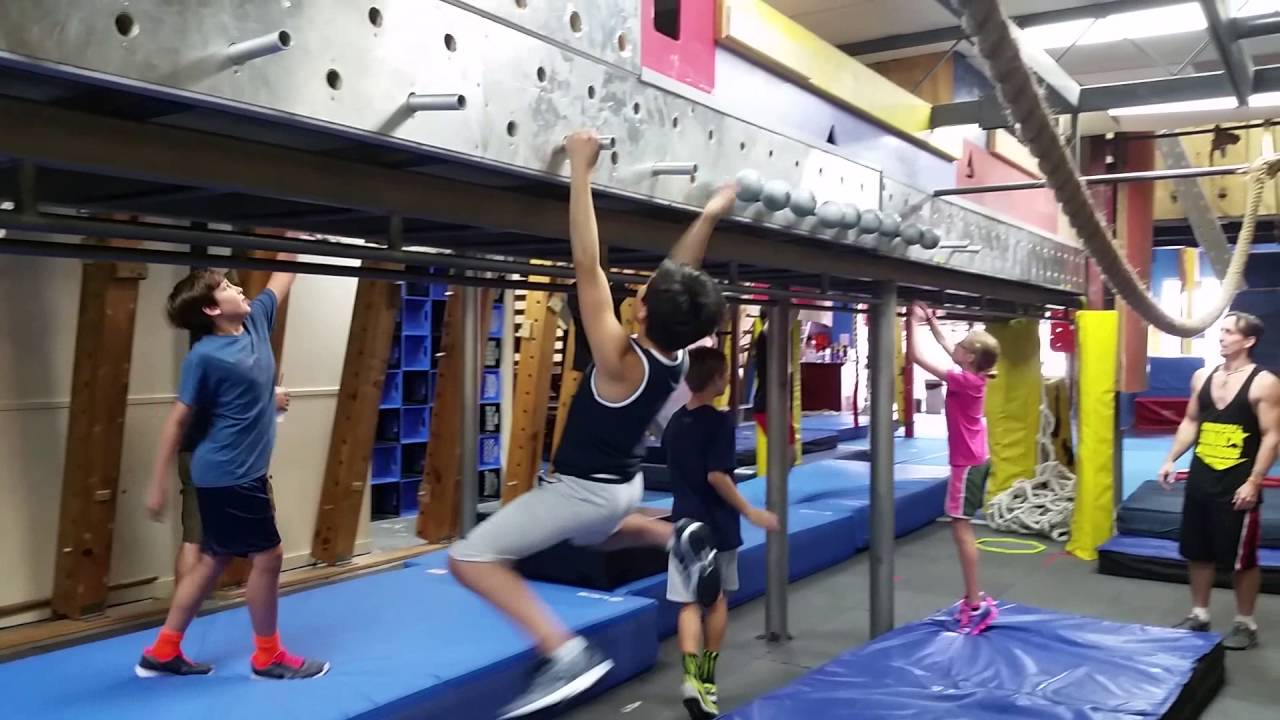 Ninja warrior iron sports in spring tx sam sans gym