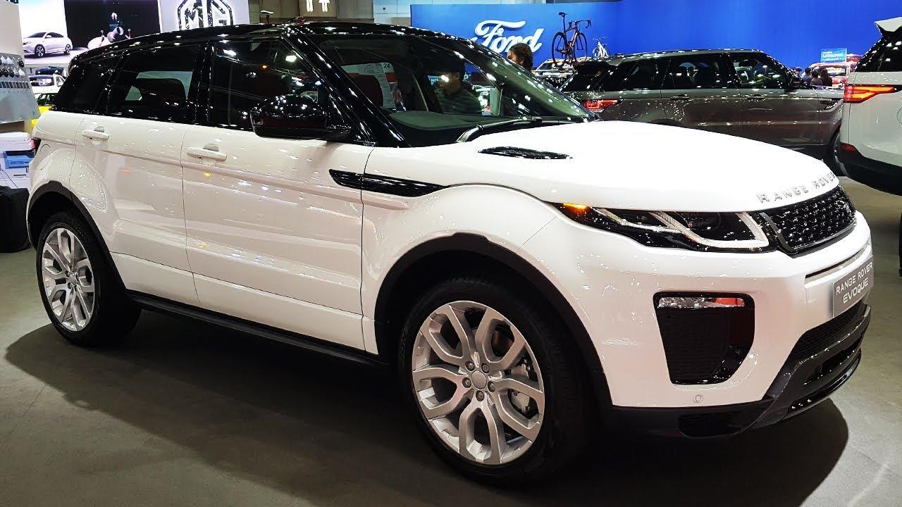 range rover evoque hse 2017