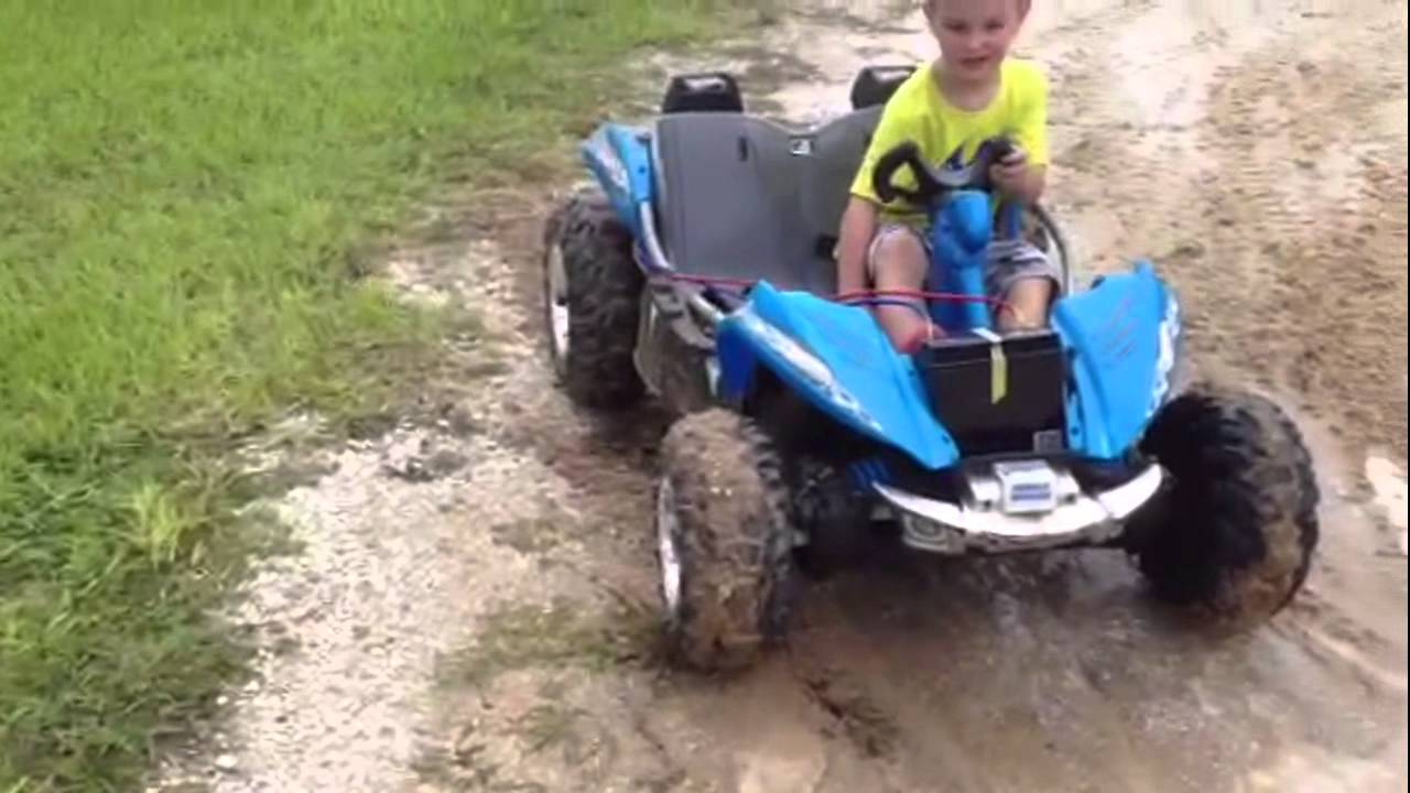 f00463dd7e016 Power Wheels 24 Volt Conversion - YouTube