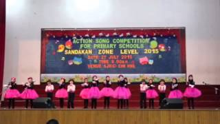 SK Taman Rimba, Action Song Competition