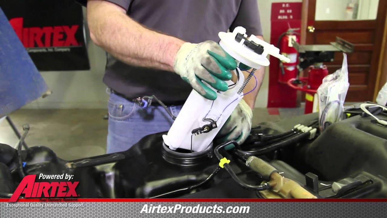 How to Install Fuel Pump E3372M 1998  2001 Oldsmobile
